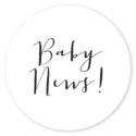 Sluitsticker baby news