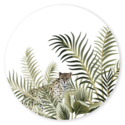 Sluitsticker panter jungle Wibe